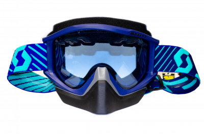 Очки SCOTT RECOILXI Snow Cross blue/teal sky blue SC_262583-5572030