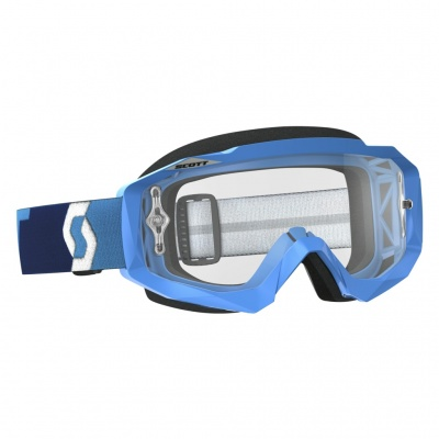 Очки SCOTT HUSTLE MX blue/clear SC_246430-0003113